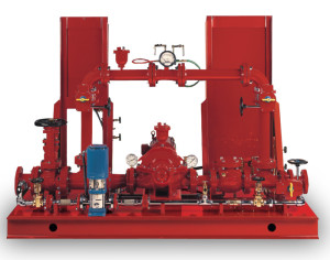 Aurora diesel and electric Packaged Fire Pump